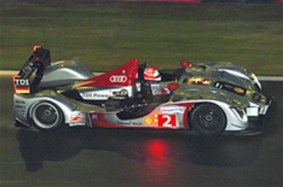 Audi Le Mans car deemed legal