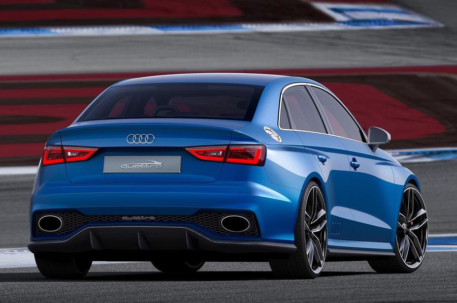 Audi Reveals A3 Clubsport Quattro Concept Autocar