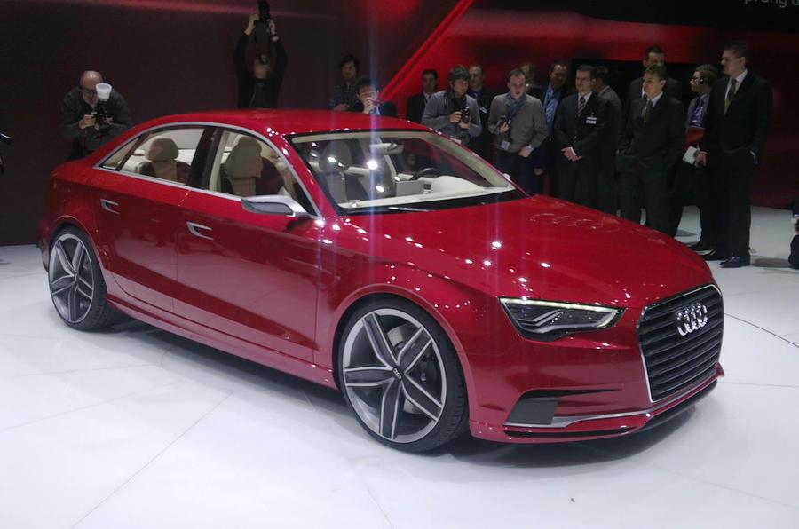 Geneva motor show: Audi A3 saloon