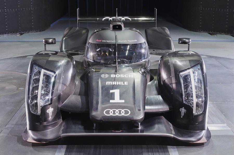 New Audi Le Mans racer unveiled