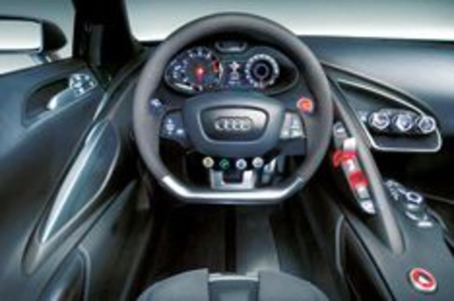 Swoopy look for new Audi interiors