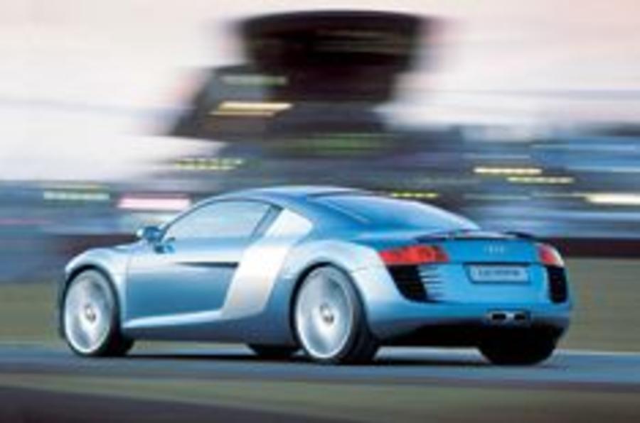 Audi builds 214mph supercar