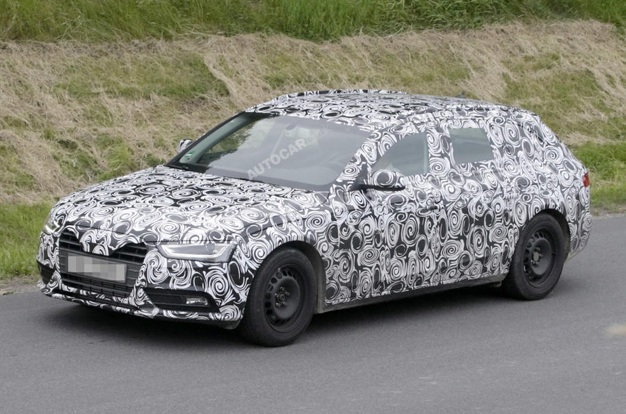 Revised Audi A4 scooped