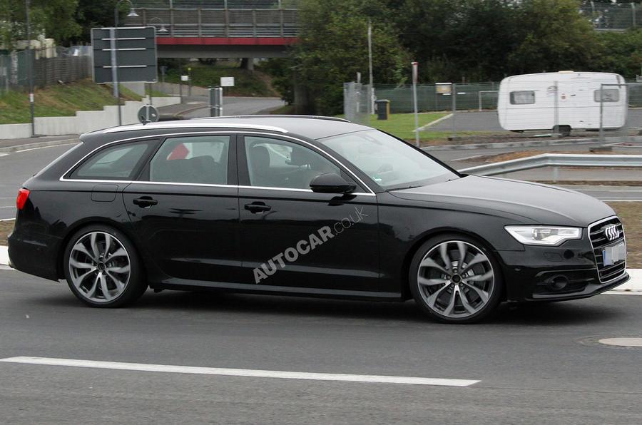 New Audi S6 Avant - spy pics