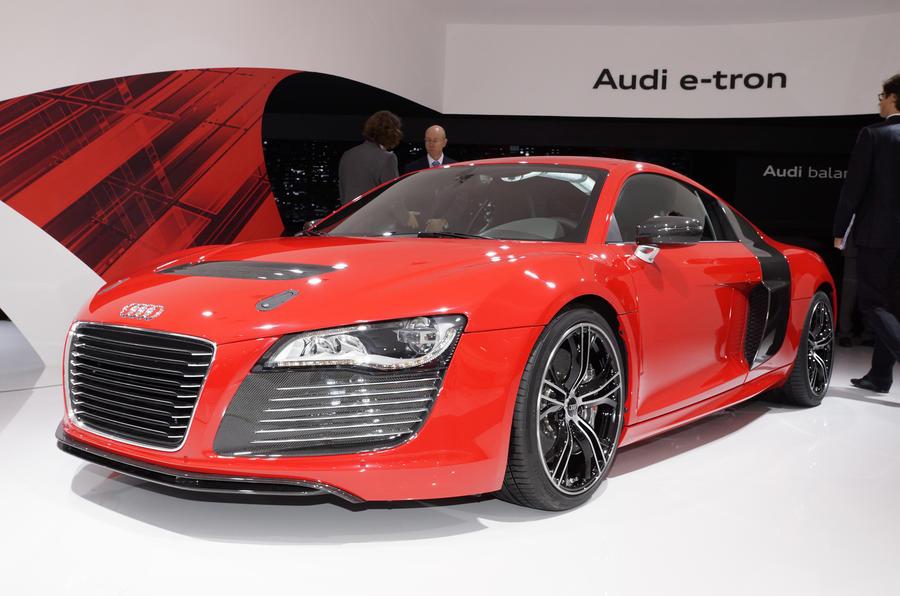Frankfurt show - three new Audis