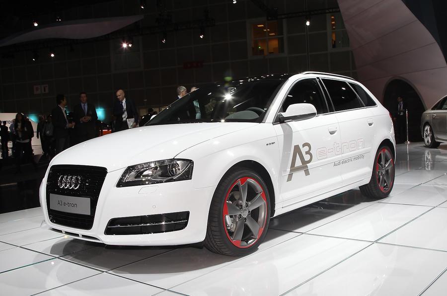 LA show: Audi A3 e-tron revealed