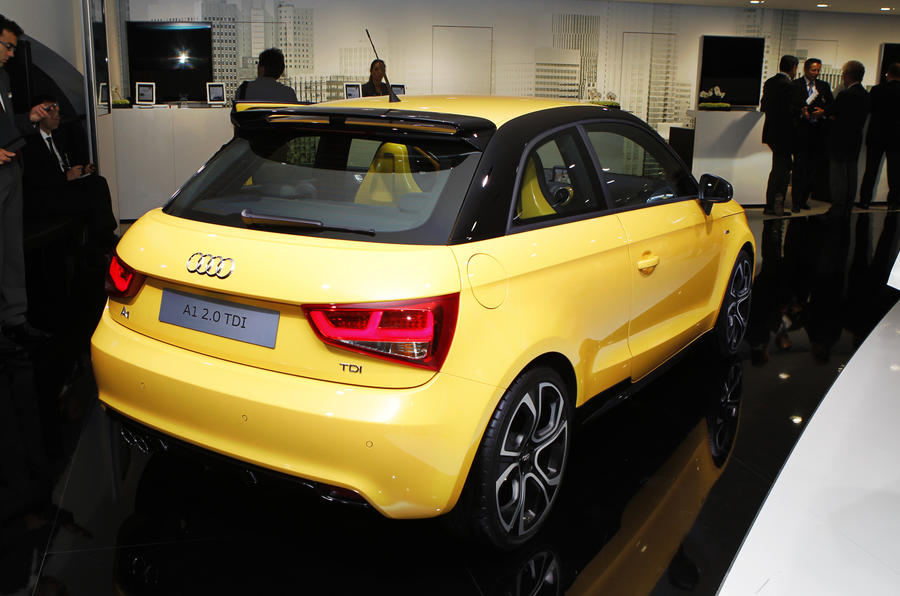 Frankfurt show - three new Audis