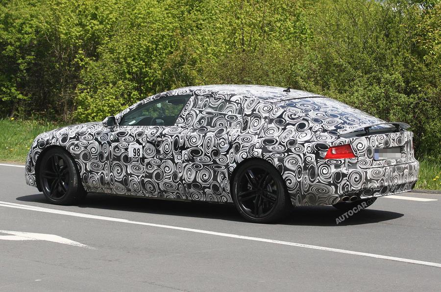 Audi S7 begins testing