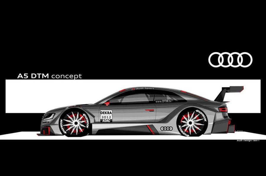 Frankfurt: Audi A5 DTM – fresh pics