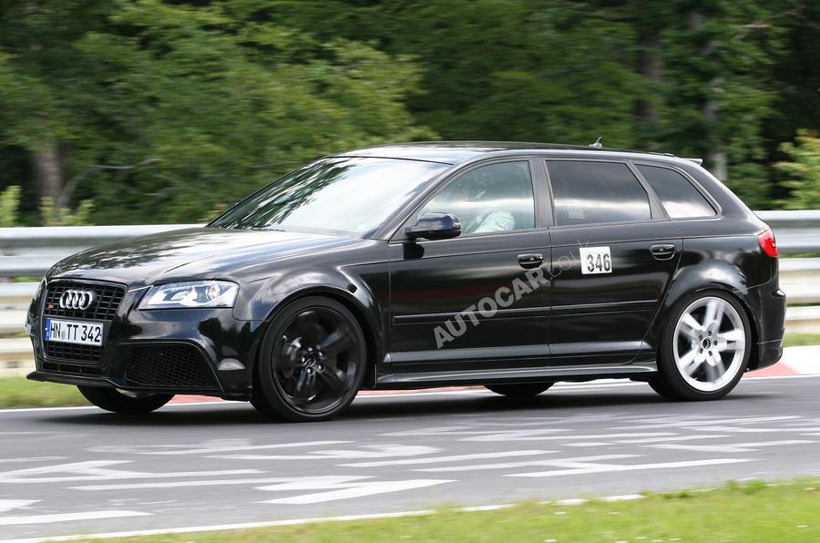 Hot Audi RS3 caught testing