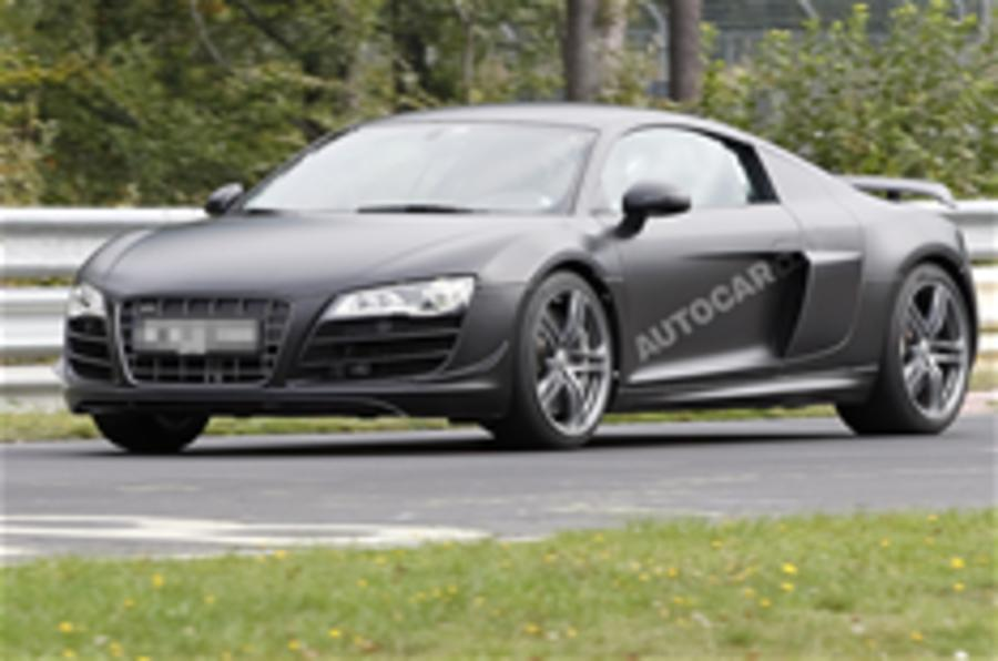 Audi R8 'Clubsport' spied