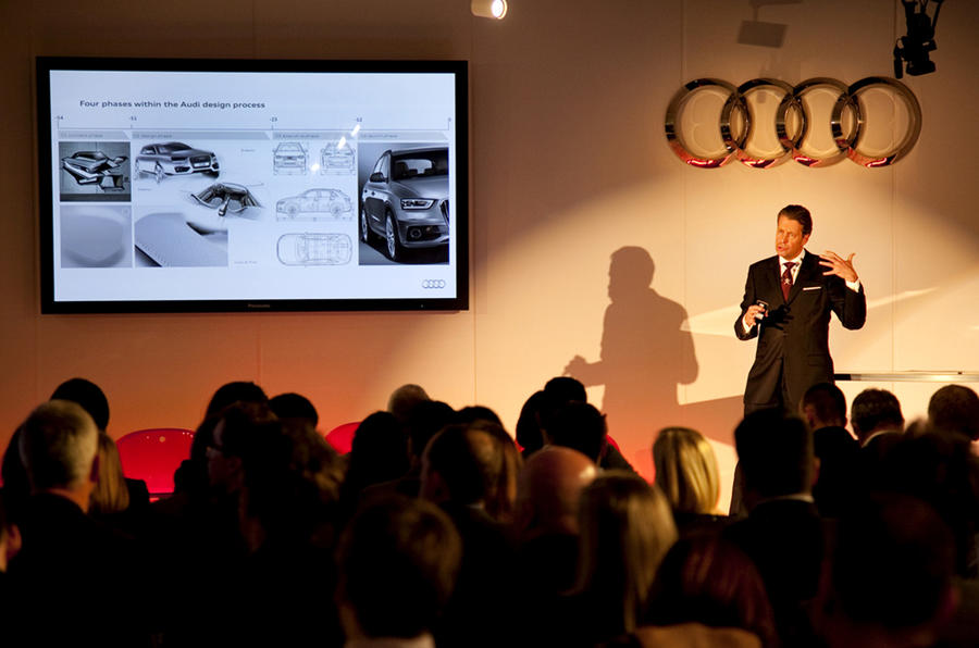 Audi 'deeply' into design revamp