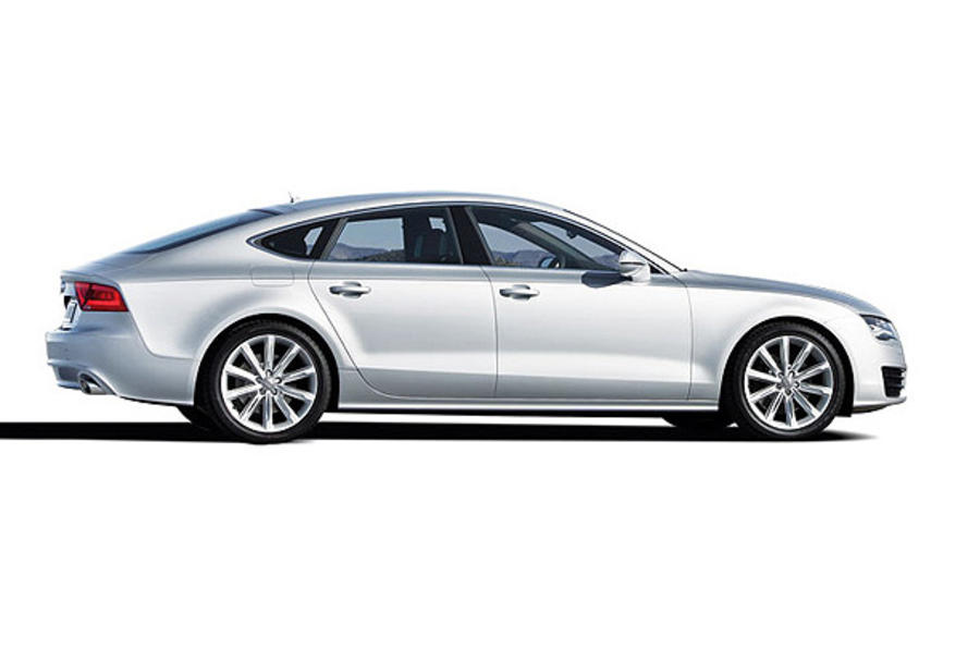 Audi A7 leaks out