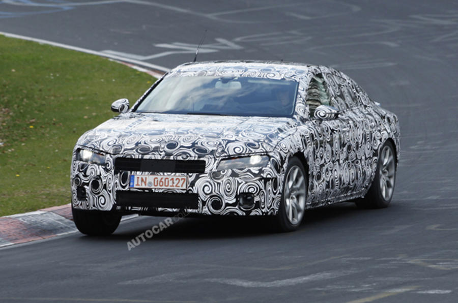 Audi A7 spied; on sale 2011