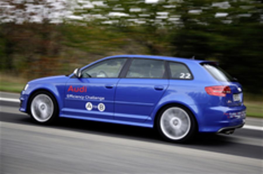 Audi A3 returns 94.2mpg