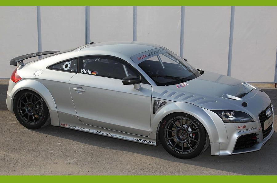 Audi reveals new TT GT4