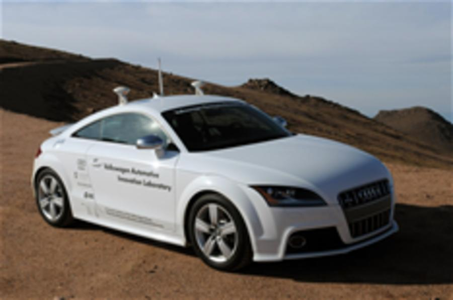 Audi to rally 'driverless' car