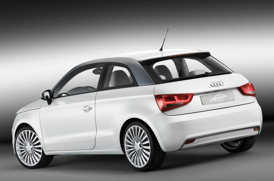 Munich trial for Audi A1 e-tron
