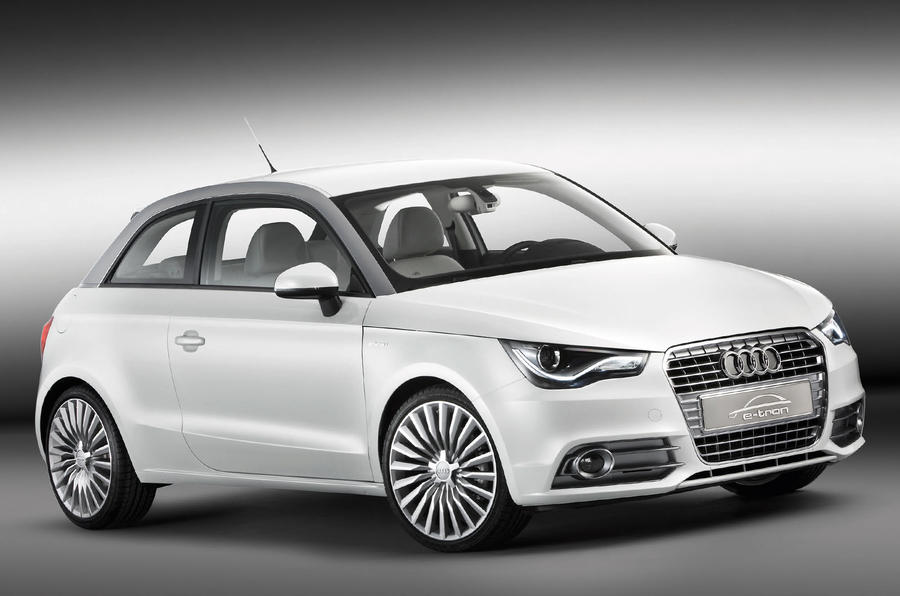Munich trial for Audi A1 e-tron