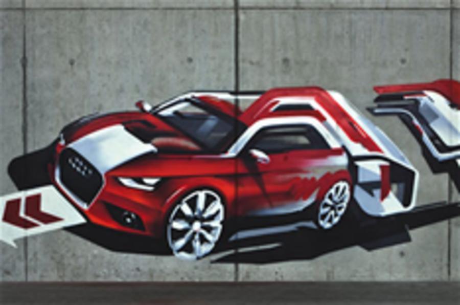 Audi A1 - official teaser image