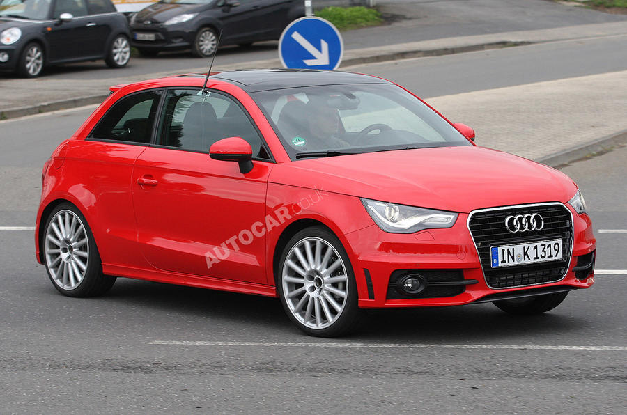 Audi S1 - first undisguised pics