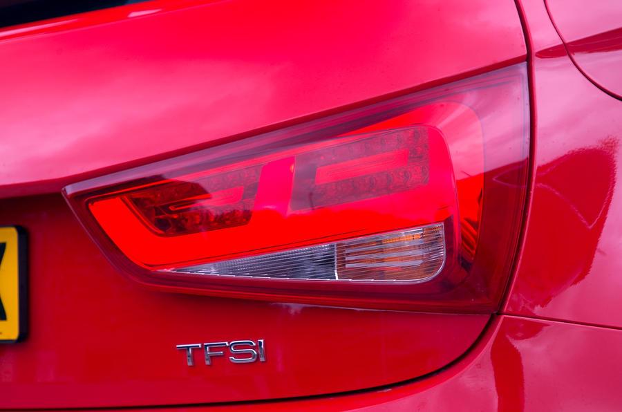 Audi A1 rear light