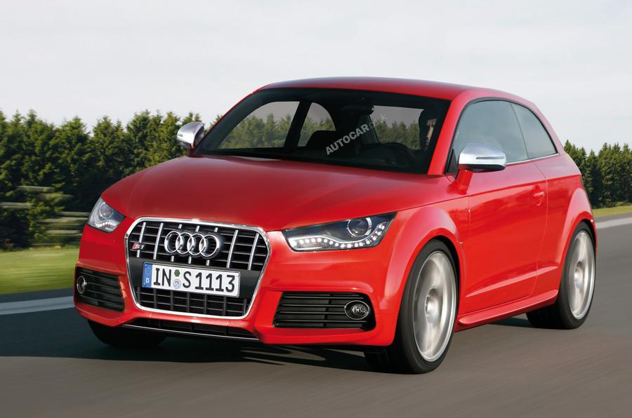 Audi S1 targets Mini Cooper S