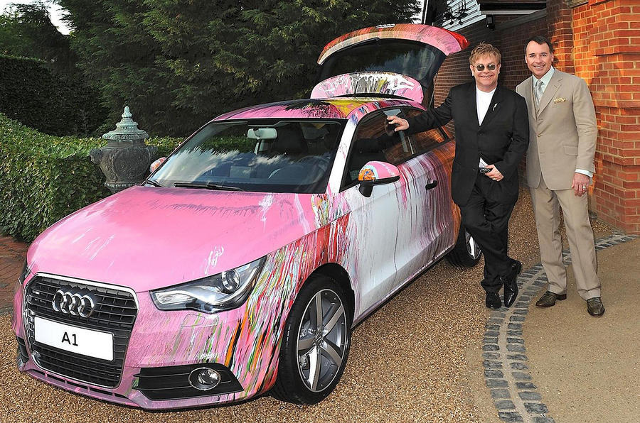 One-off Audi A1 sells for £350k