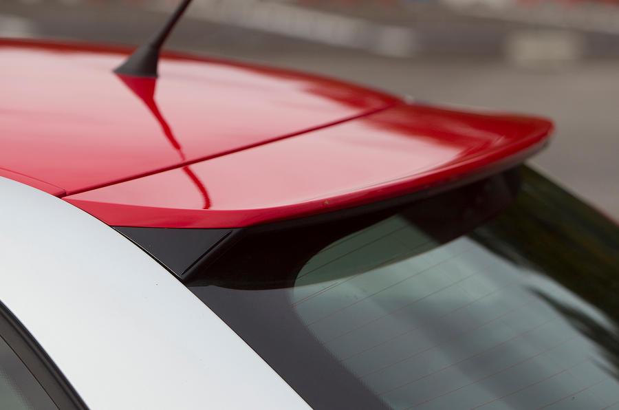 Audi A1 rear spoiler