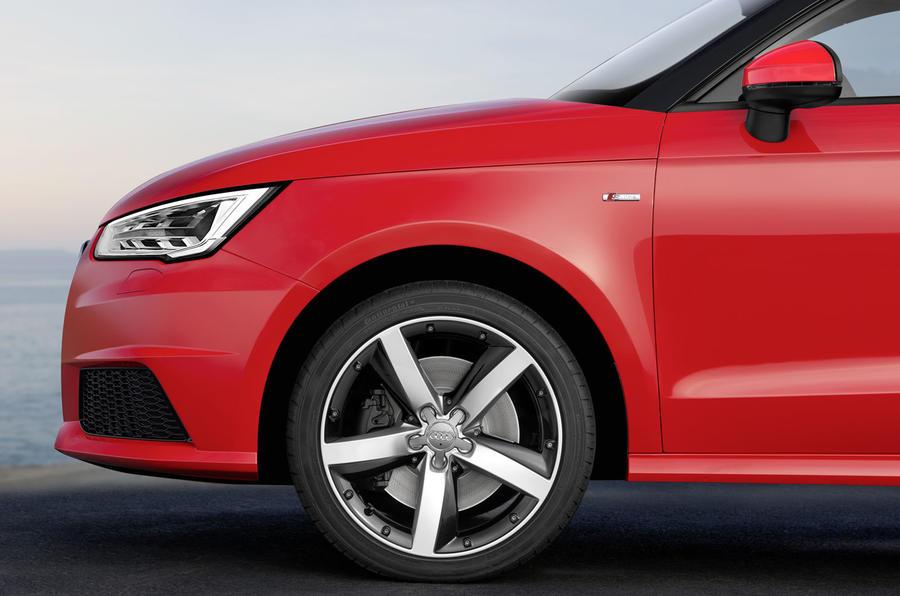 Audi A1 front end