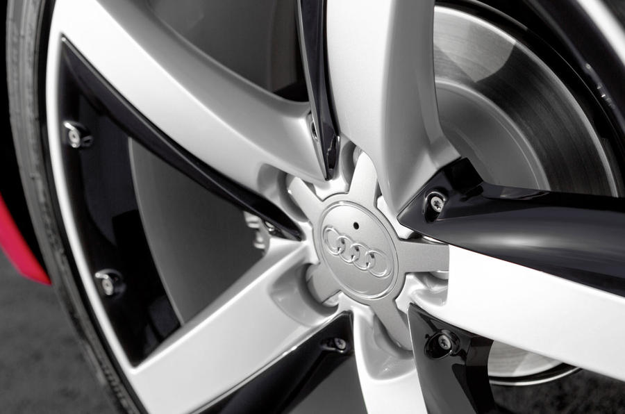 17in Audi A1 alloy wheels