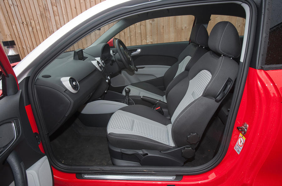 Audi A1's front seats