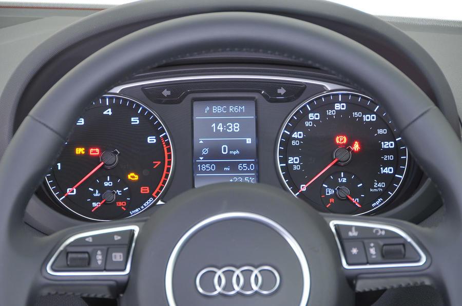 Audi A1 instrument cluster