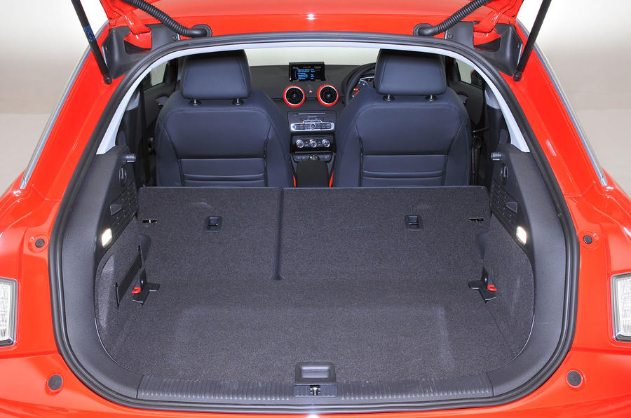 Audi A1 seating flexibility