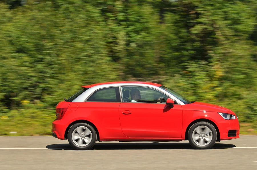Audi A1 side profile