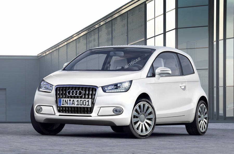 New Audi A2 'electric only'