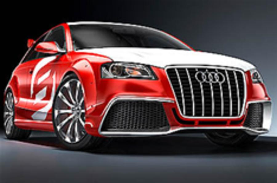 Revealed: Audi A3 clubsport