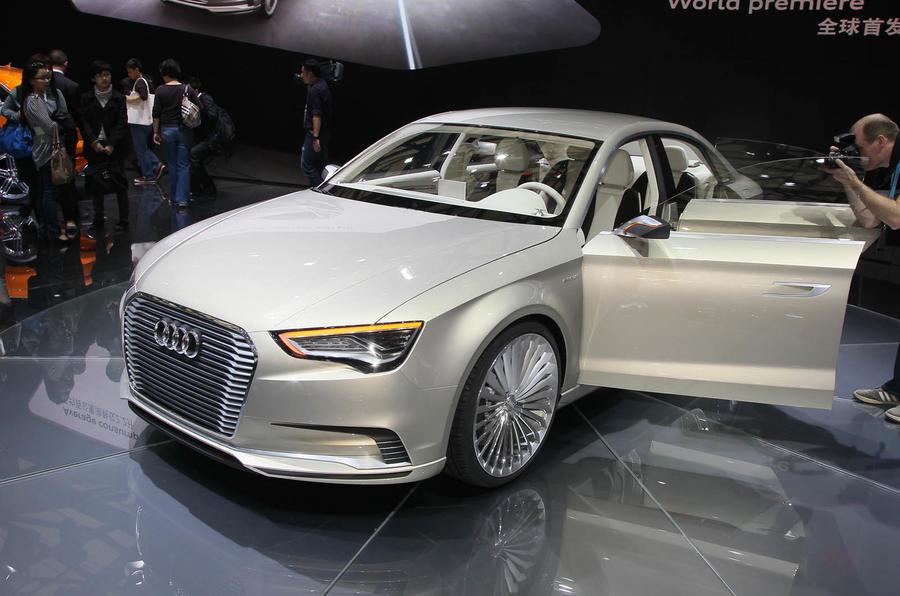 Shanghai motor show: Audi A3 e-tron