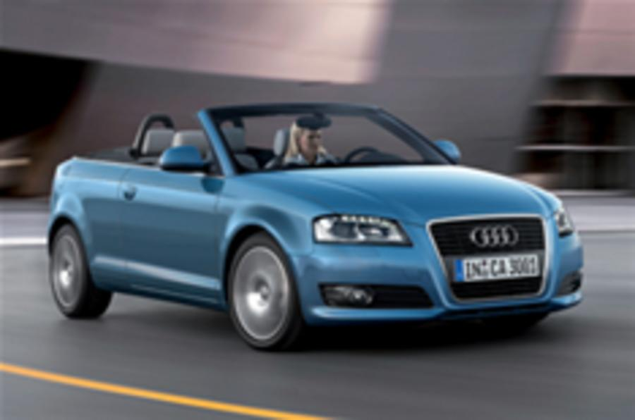 UK prices for Audi A3 cab