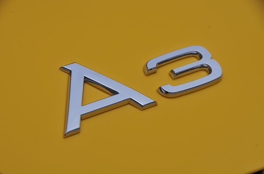 Audi A3 badge
