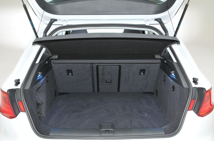 Audi A3 Sportback boot space