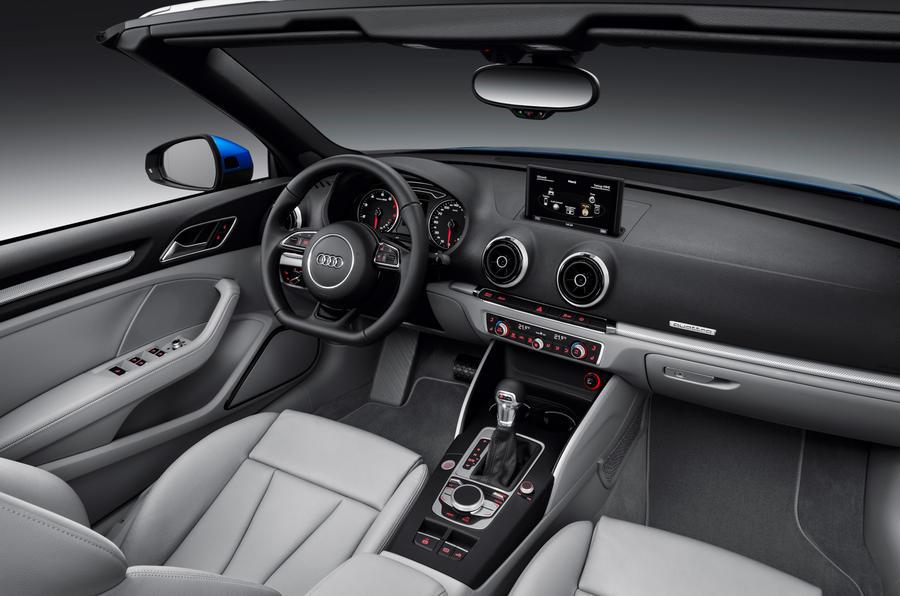 Audi A3 Cabriolet's interior