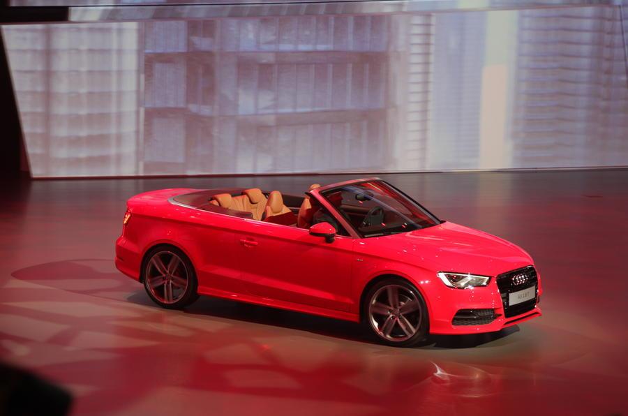 Frankfurt motor show 2013: Audi A3 cabriolet