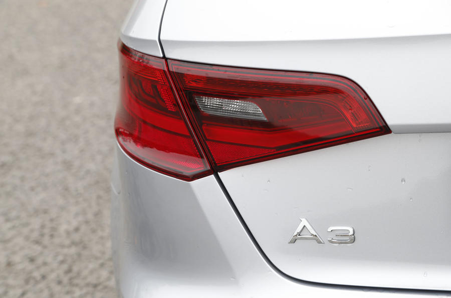 Audi A3 e-tron rear light