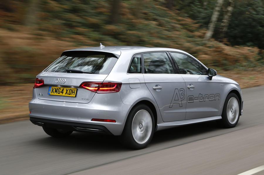 Audi A3 e-tron rear quarter