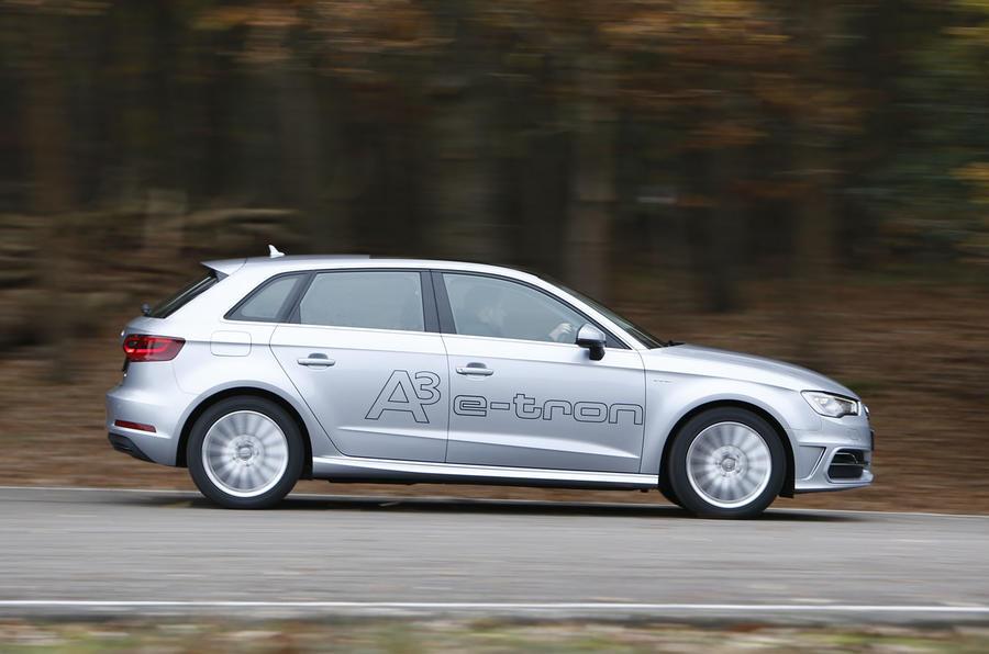 A3 e-tron is a balanced car