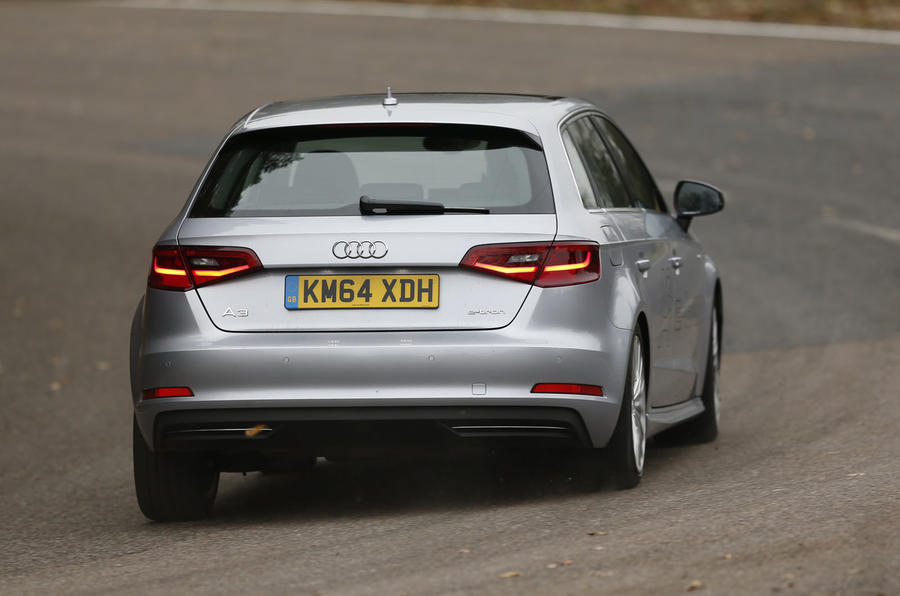 Audi A3 e-tron tends to oversteer