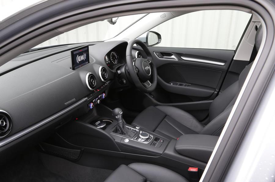 Audi A3 e-tron's interior