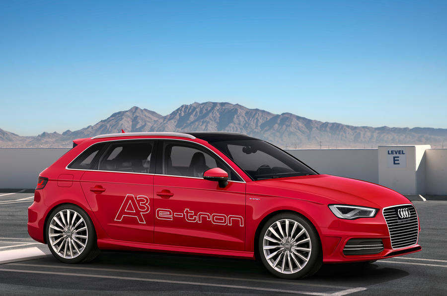 Audi A3 E Tron Range Extender