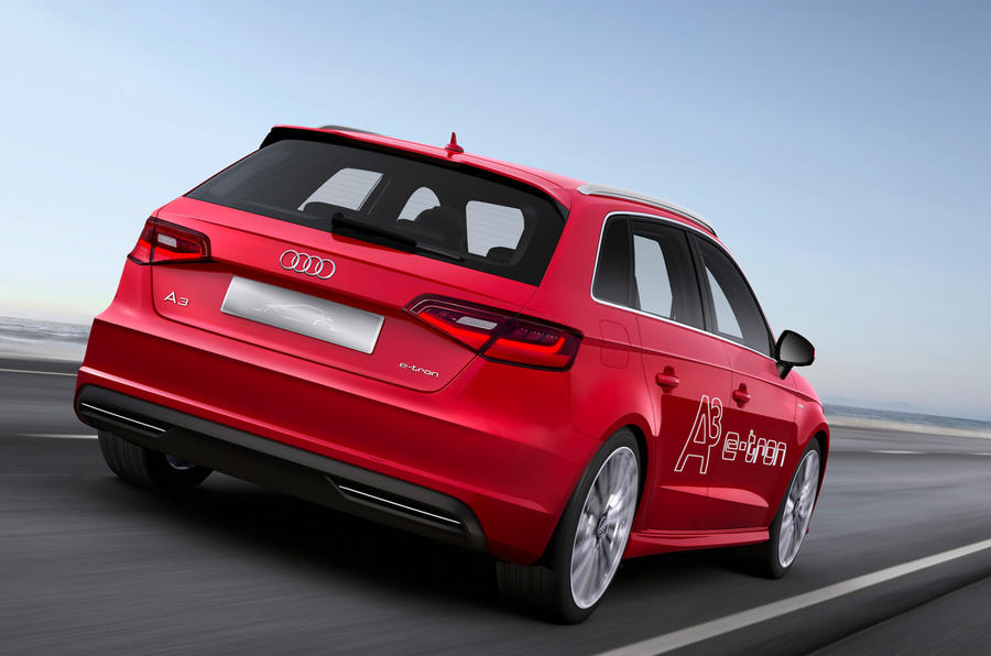 audi a3 sportback e tron plug in hybrid to arrive in 2014 autocar. Black Bedroom Furniture Sets. Home Design Ideas